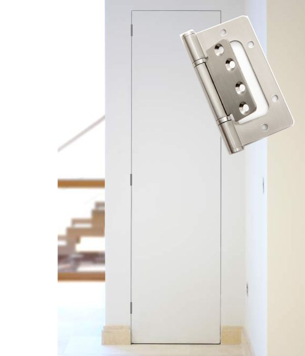 Invisibledoors® - Frameless Cupboard - BUTT Hinge